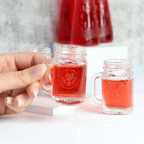 Free Shipping Mini Drinking Jar Shot Glasses