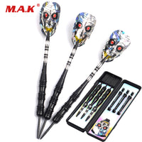 3pcs 24g Skull Dart Flight with Nickel Plated Tube and Carved Aluminum Shaft Dart Stainless Iron Tips Darts Free Shipping