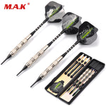 18g 3pcs Steel Safe Dart with Soft Tip Indoor Sport Darts With Black Flight for Games Free Shipping