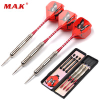 3pcs High Quality Steel Tip and Red Ring/Black Shaft Darts with Red Butterfly Dart Flight Gift