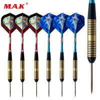 High Quality 6pcs Professional Competition Metal Steel Tip Hard Tip Needle Darts Set for Indoor Sports Game