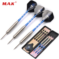 High Quality 3pcs Stainless Stell Tip and Marked Aluminum Shaft Darts with Black Skeleton Skull Dart Flight