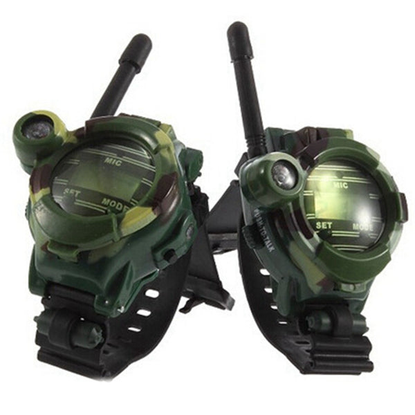 Children Toy Multi-functional Walkie Talkies for Kids Camping 135 Paintball Camo FRS/GMRS Two-Way Radio Pack of 2