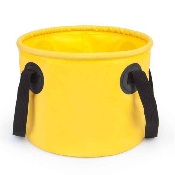 PVC Folding Bucket Collapsible Bucket Water Container for Fishing Camping
