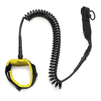 10ft 7mm SUP Ankle Leash Surfboard Coiled Stand UP Paddle Board TPU paddle board rope surfing accessory