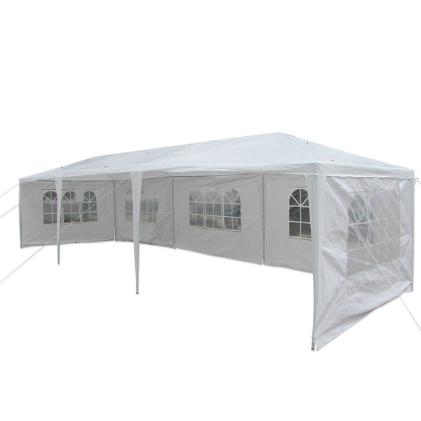 10'X30' Patio Party Wedding Tent Gazebo Pavilion Canopy Heavy Duty w/Side Walls