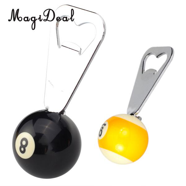 MagiDeal Pool Billiards Ball Bottle Opener Billiards Ball Collectible Gift