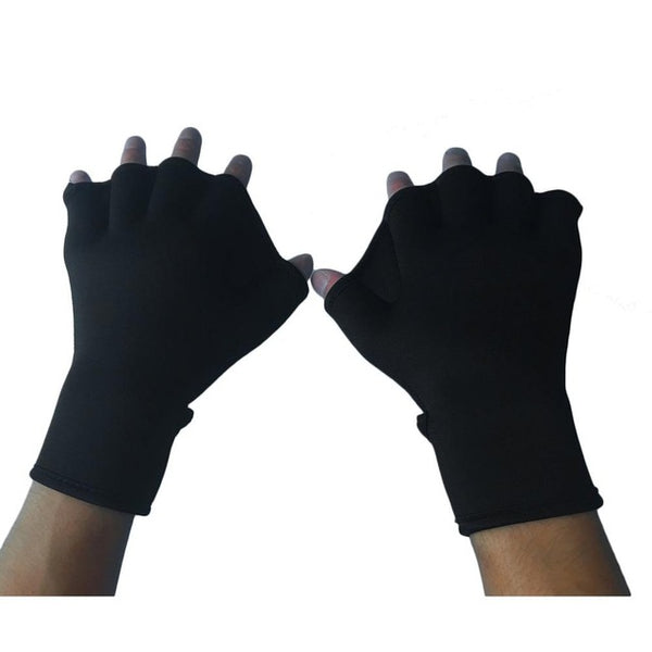 2mm Swimming Gloves Surfing Water Sports Paddle Webbed Training Duck Palm Gloves Adult Unisex Snorkeling Diving Equipment