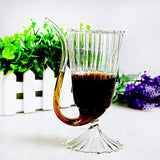1pcs Glasses Stylish Red Wine Glass Wine Beer Juice Coffee Milk Glass Water Glass Mug Whiskey Vodka Shot Cup Bar Supplies
