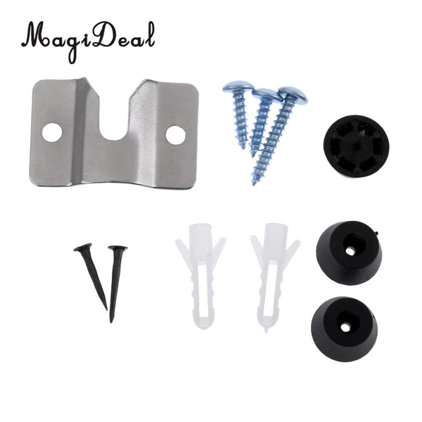 MagiDeal Professional 1Pc Dartboard Mounting Bracket Hardware Kit Screws for Hanging Dartboard