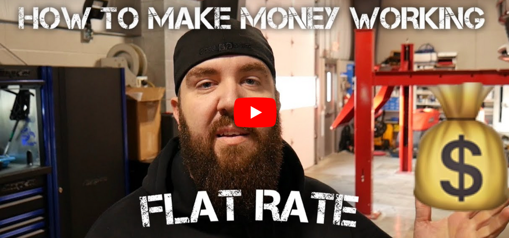 HOW TO MAKE MONEY WORKING THE FLAT RATE SYSTEM!