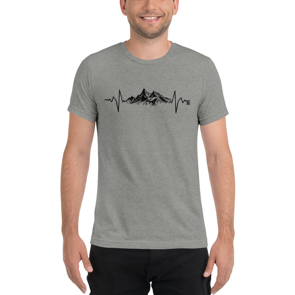 Mountain heartbeat tee- Unisex