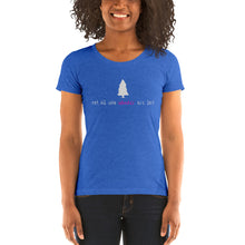 Load image into Gallery viewer, Women's Wander tee (pink logo)