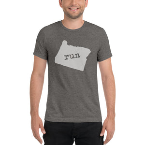 Run Oregon- Unisex tee