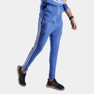Royal Blue Double Stripe Bottoms