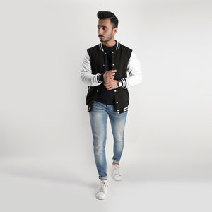 Black White Varsity Jacket