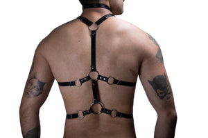 HARNESS DISTURBIO BLACK