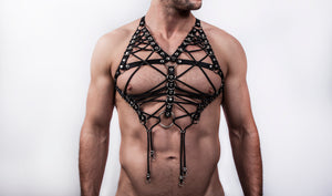 HARNESS LETAL BLACK