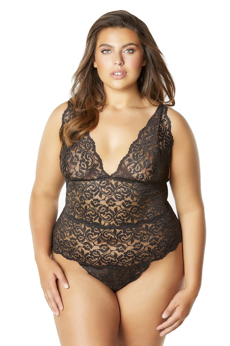 The Luna Lace Teddy