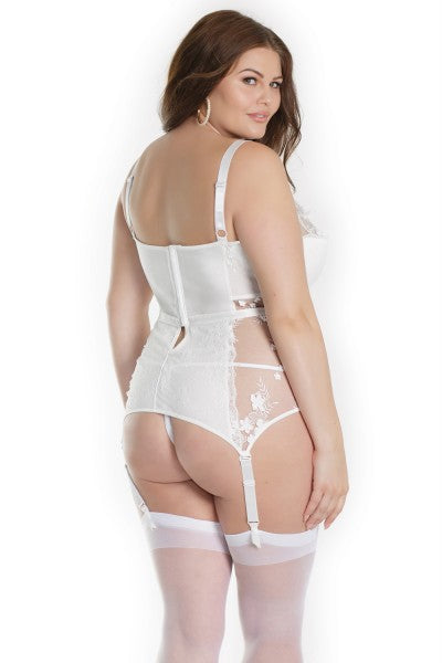 The Anniversary Bustier in Whisper White