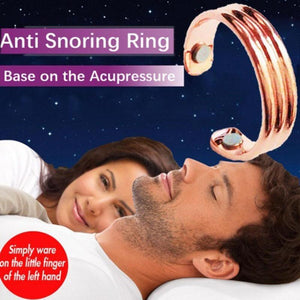 Acupressure Against Snoring Ring