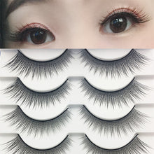 Load image into Gallery viewer, New Natural Cross false eyelashes