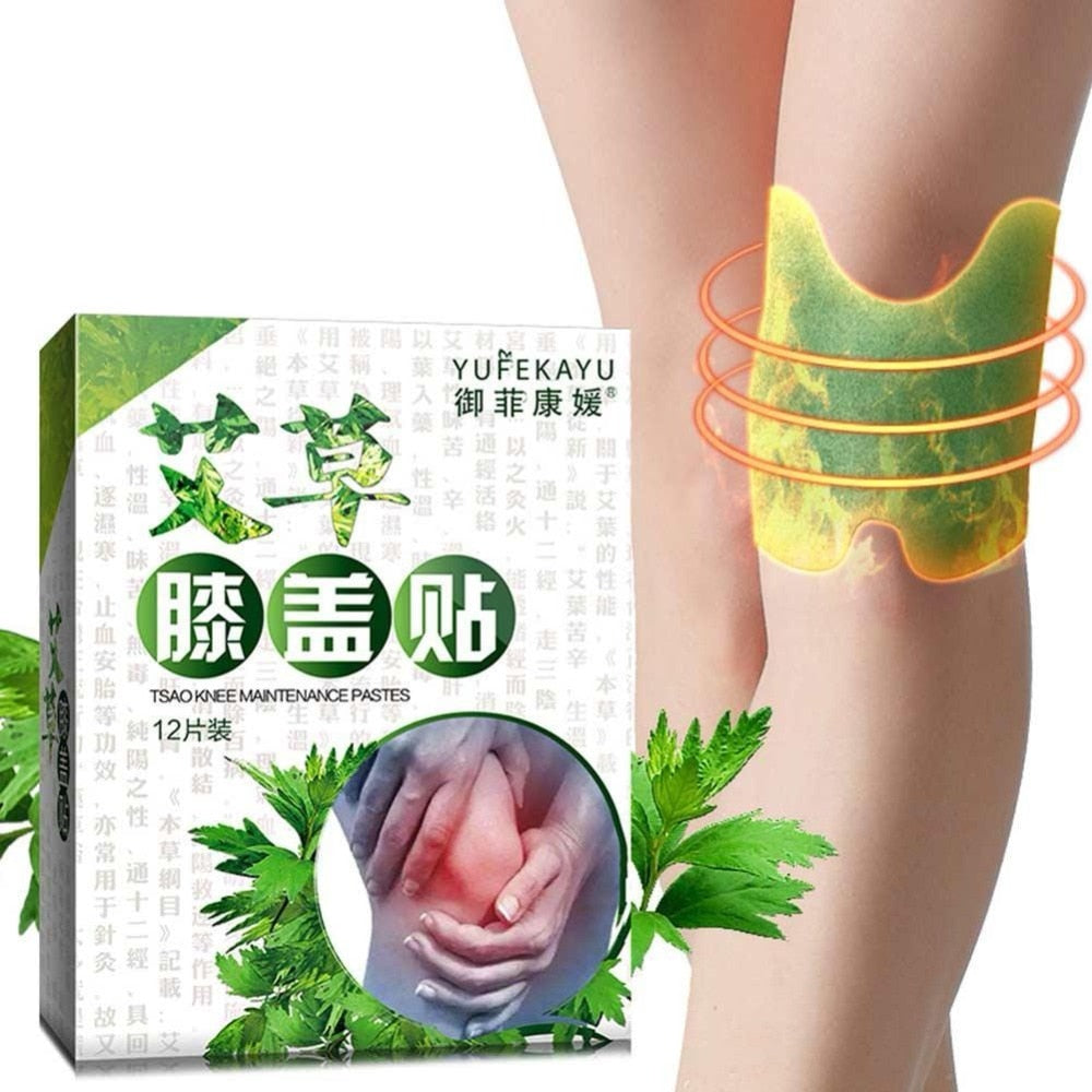Knee Plaster Sticker