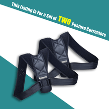 Load image into Gallery viewer, Adjustable Back Posture Corrector for Men and Women made with Quality