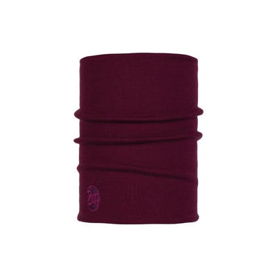 Heavyweight Merino Wool Putkihuivi - Solid Purple