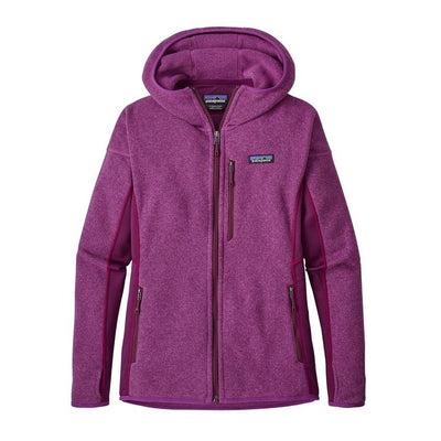 W's Performance Better Sweater Hoody - Ikat Purple / XS