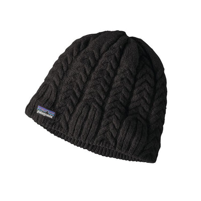 Cable beanie - Black