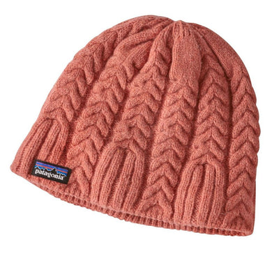 Cable beanie - Tomato