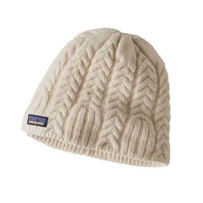 Cable beanie - Toasted White