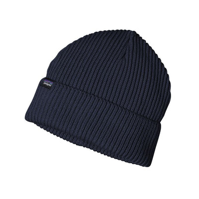 Fisherman Rolled Beanie - Navy Blue