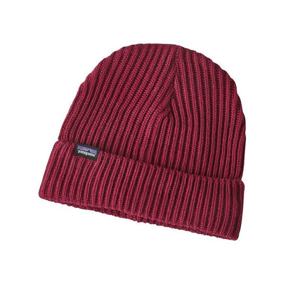 Fisherman Rolled Beanie - Oxide Red
