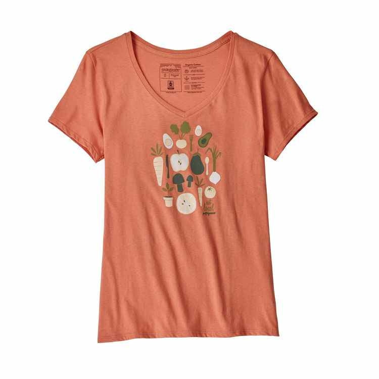 W's Harvest Haul Organic V-Neck T-Shirt