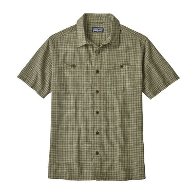 M's Back Step Shirt - Industrial Green / S