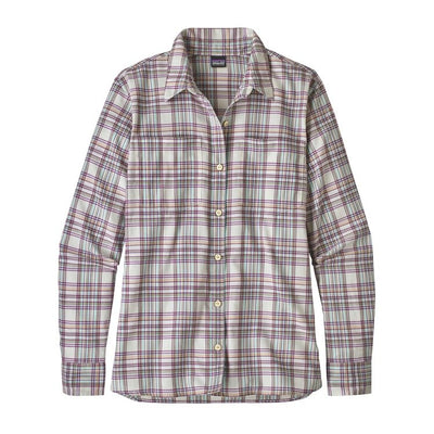W's LS Catbells Shirt - Birch White / S