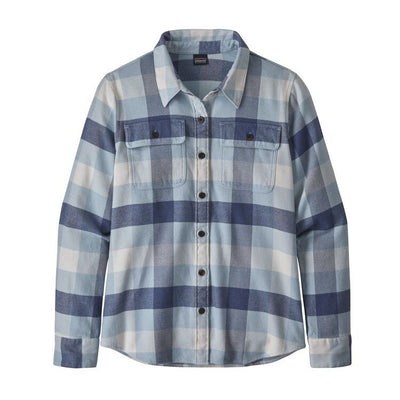 Women's  LS Fjord Flannel Shirt - Woolly Blue / M