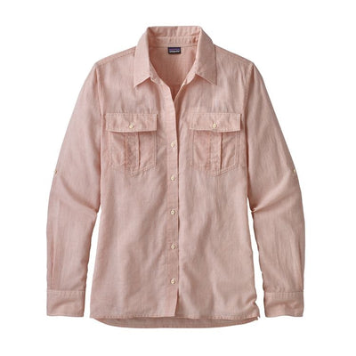 W's LW A/C Buttondown Shirt - Quartz Coral / L