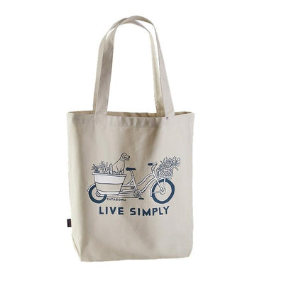 Market Tote Kangaskassi - Live Simply