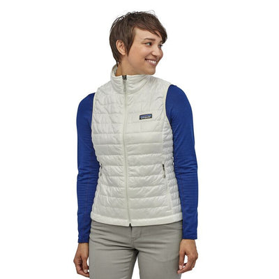 W's Nano Puff Vest - Birch White / M