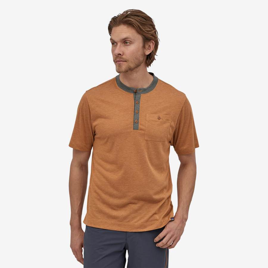 Men's Capilene® Cool Trail Bike Henley
