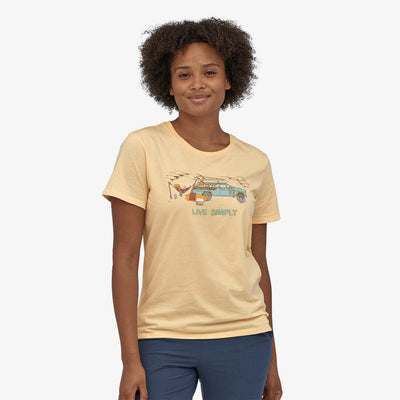 W's Live Simply Lounger Organic Crew T-Shirt