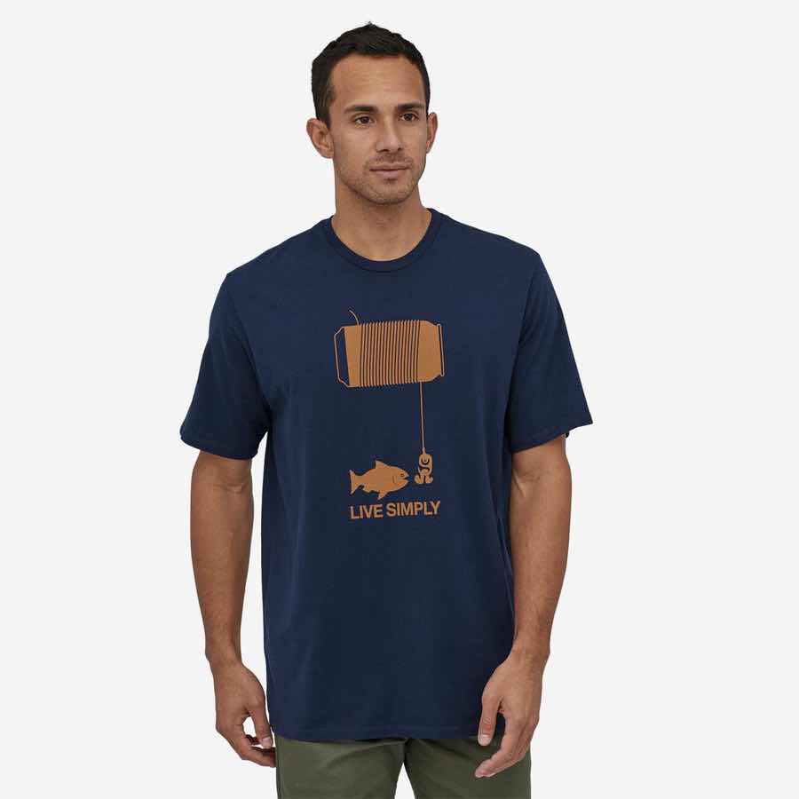 M's Live Simply Happy Hour Organic T-Shirt
