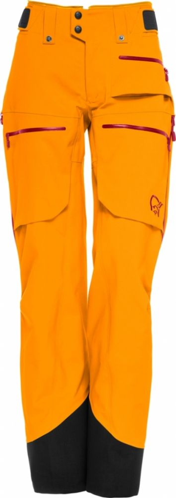 Lofoten Gore-Tex Pro Pants W 2019 - Orange Crush / M