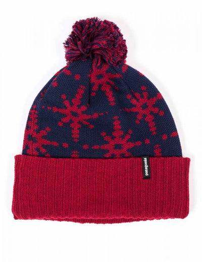 Powder Town Beanie - Solar Stitch: Oxide Red