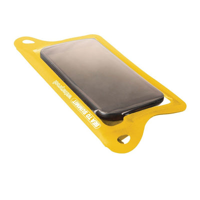 TPU Waterproof Case for Smartphone - Yellow