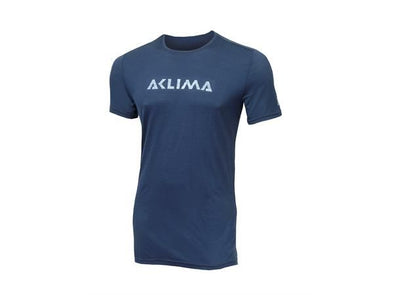 Lightwool T-shirt LOGO M - Insignia Blue / M