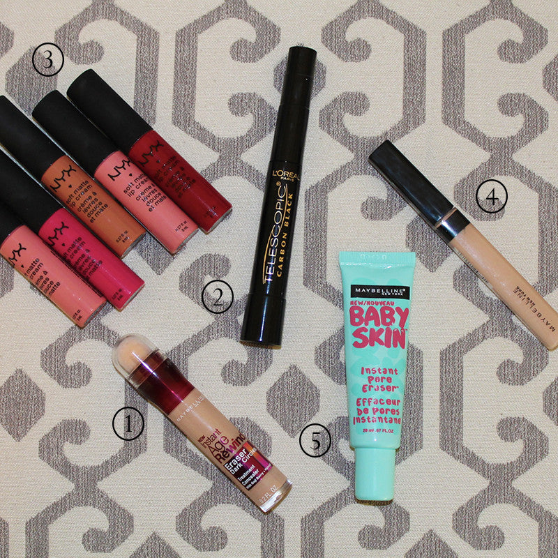 Top 5 Drugstore Makeup Products 2014